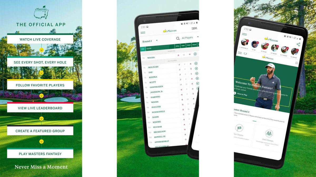 The Masters Golf Tournament screenshot 2021