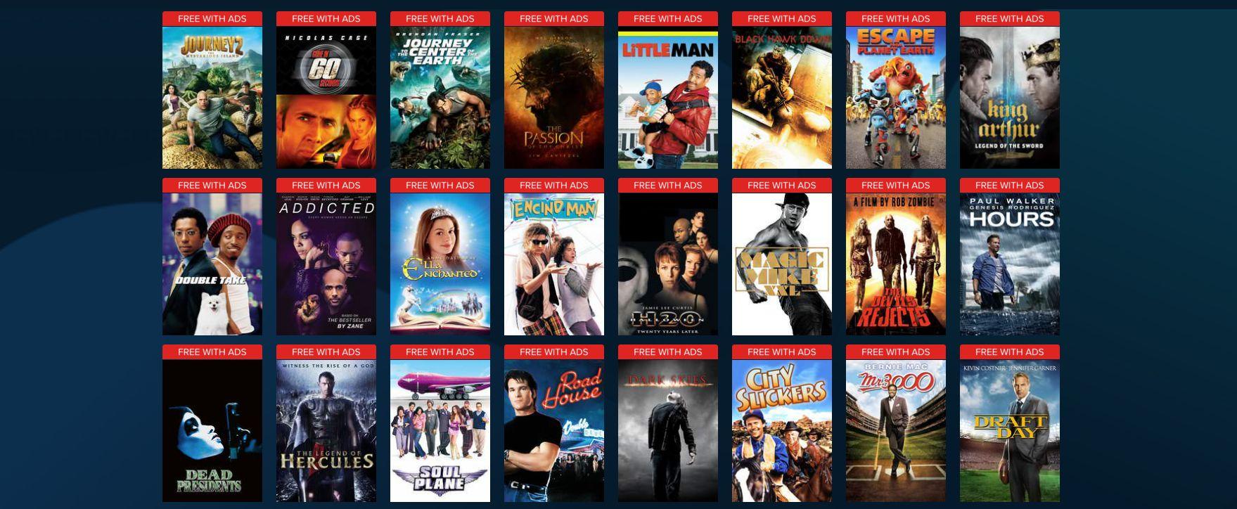 best vudu free movies