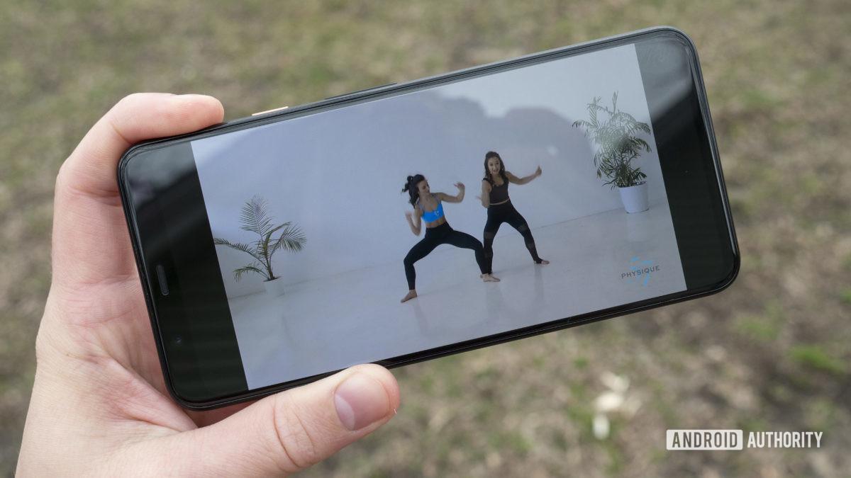 fitbit premium review custom workouts physique 57 2