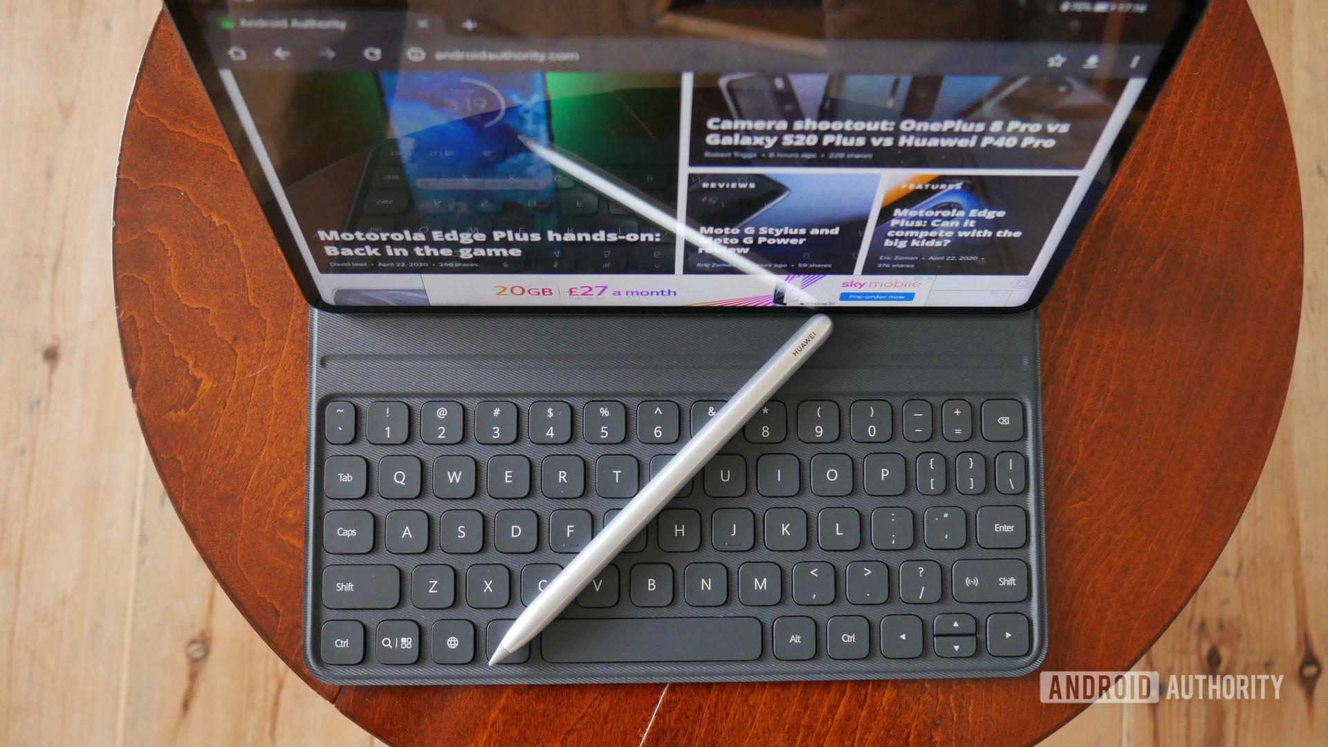 huawei matepad pro review keyboard m pencil