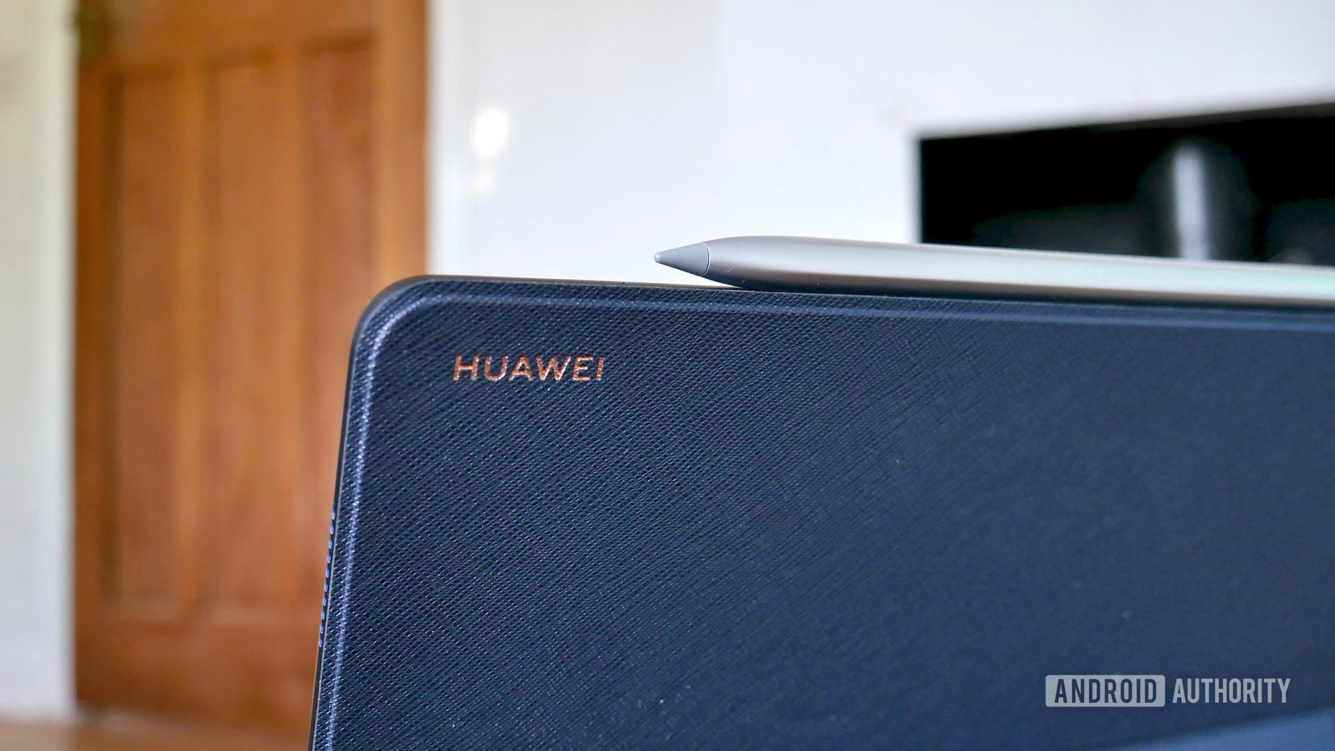 huawei matepad pro review m pencil logo