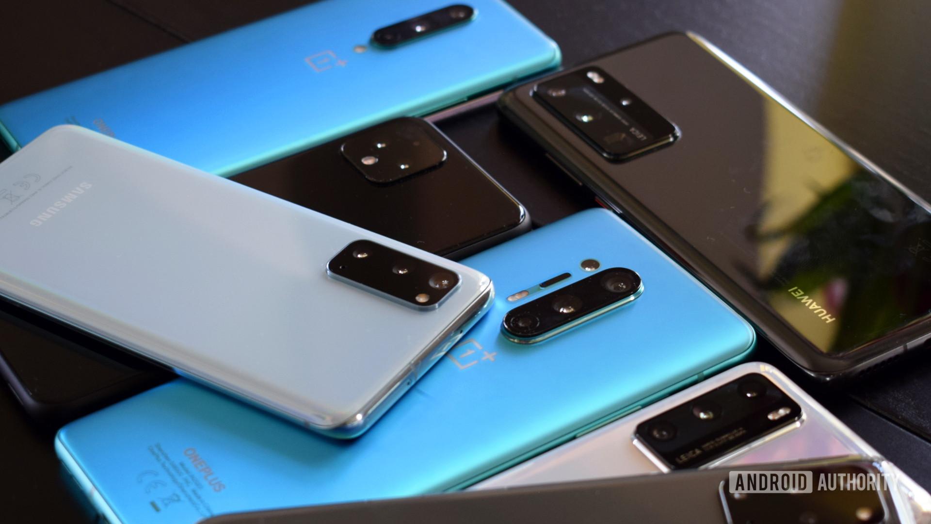 lots of smartphones 2