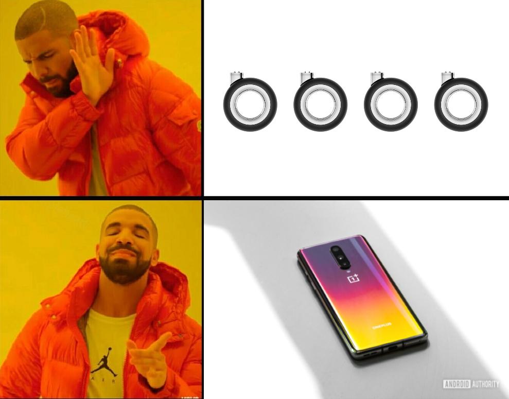 mac pro wheels oneplus 8 meme