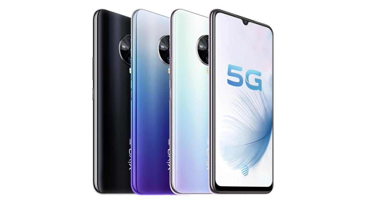 The Vivo S6 5G.