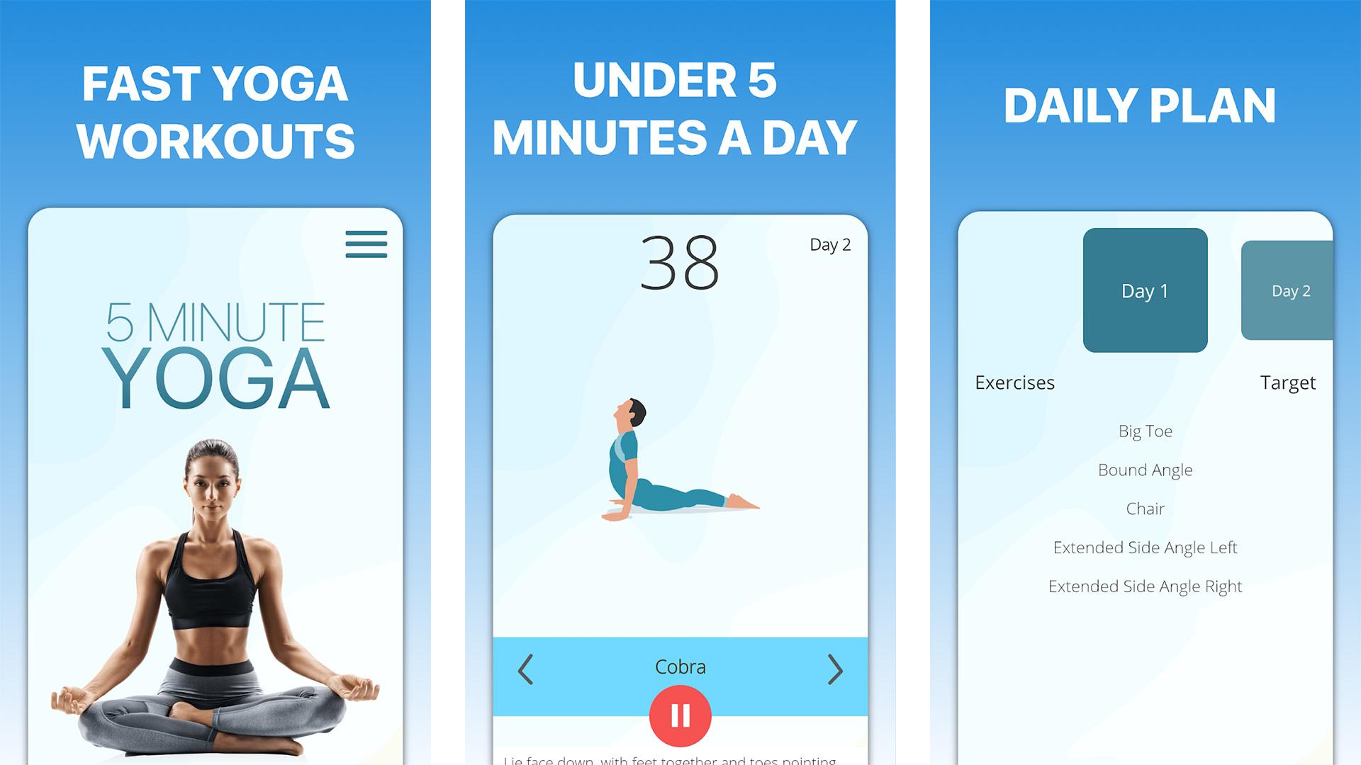 5 Minute Yoga screenshot 2021