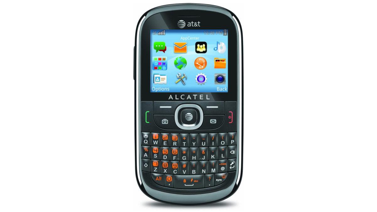 Alcatel 871A keyboard phone