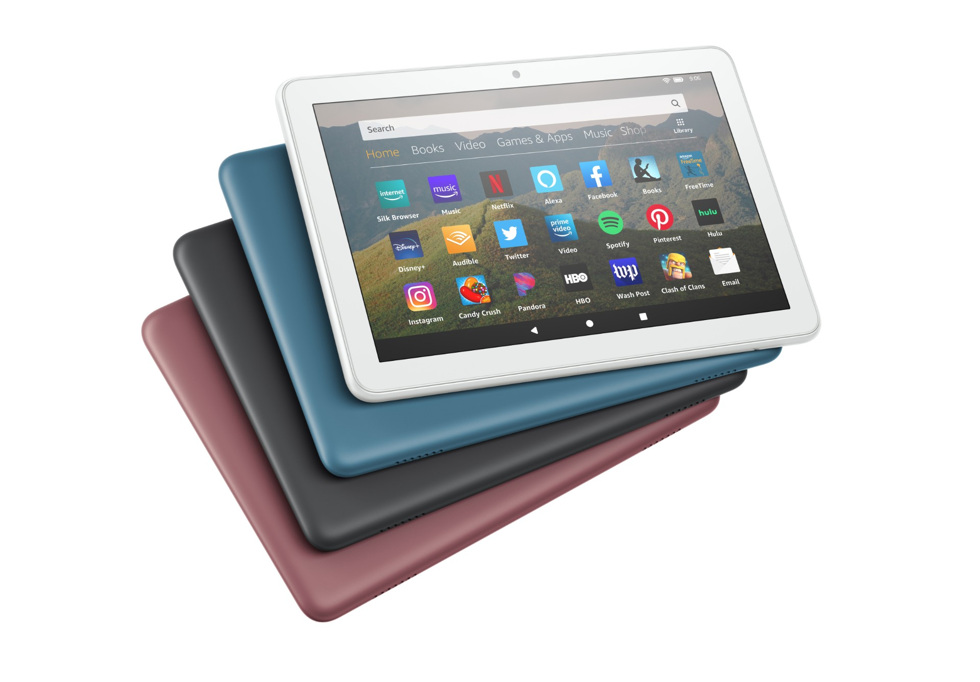 Fire HD 8 available colors