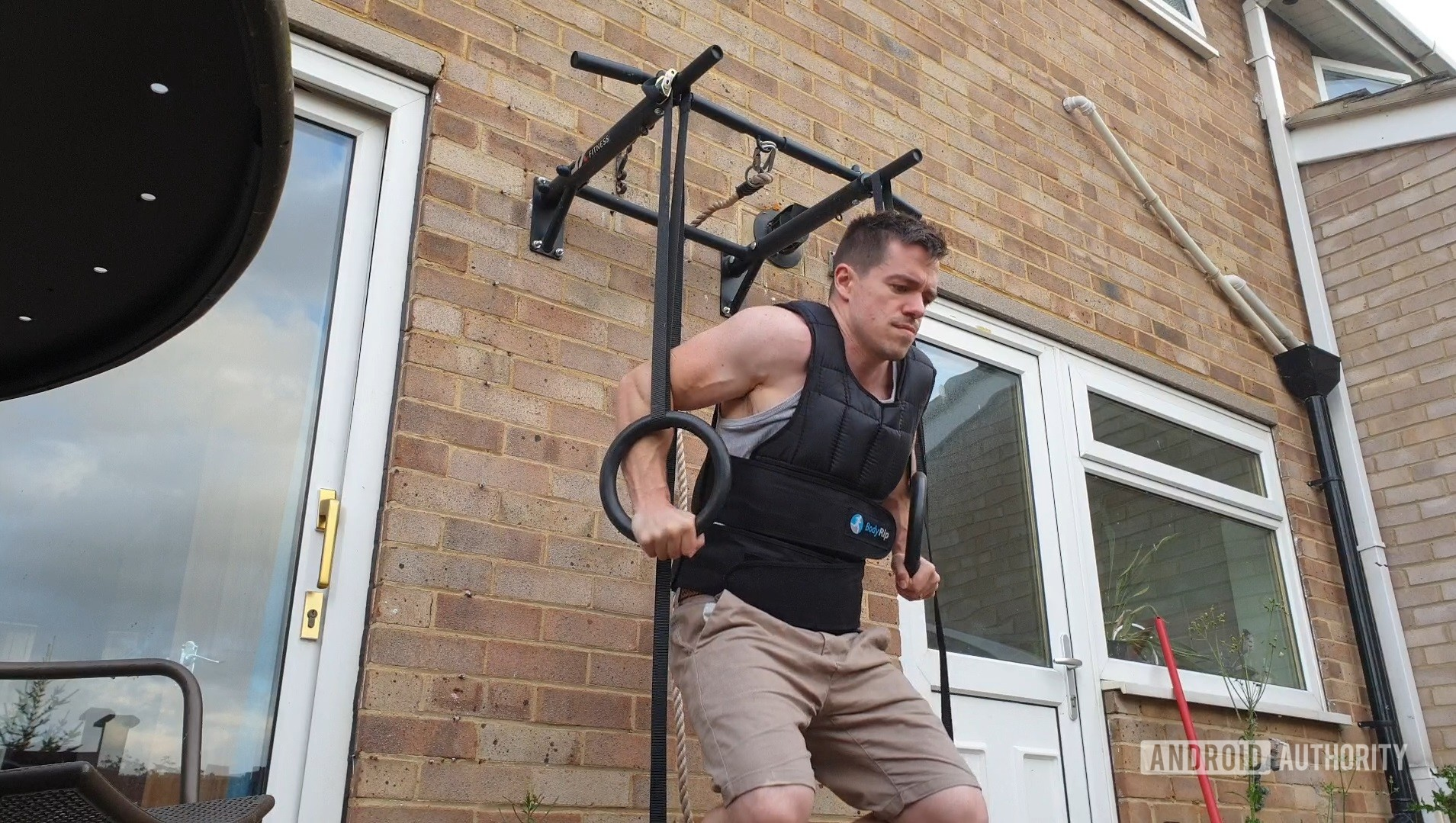 Gymnastic Ring Exercises