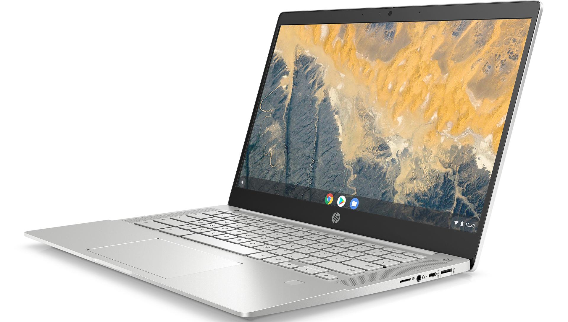 HP Pro c640 Chromebook Enterprise Front Left