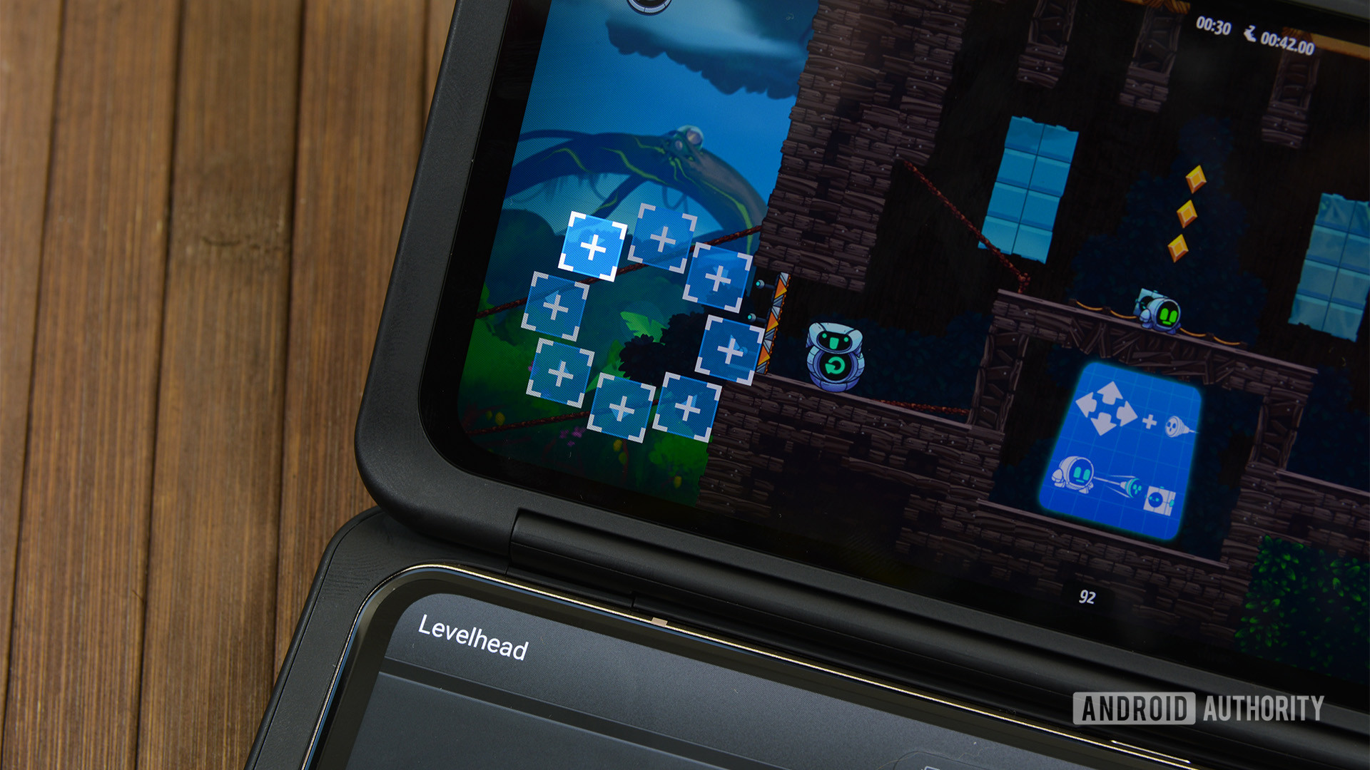 LG Game Pad mapping