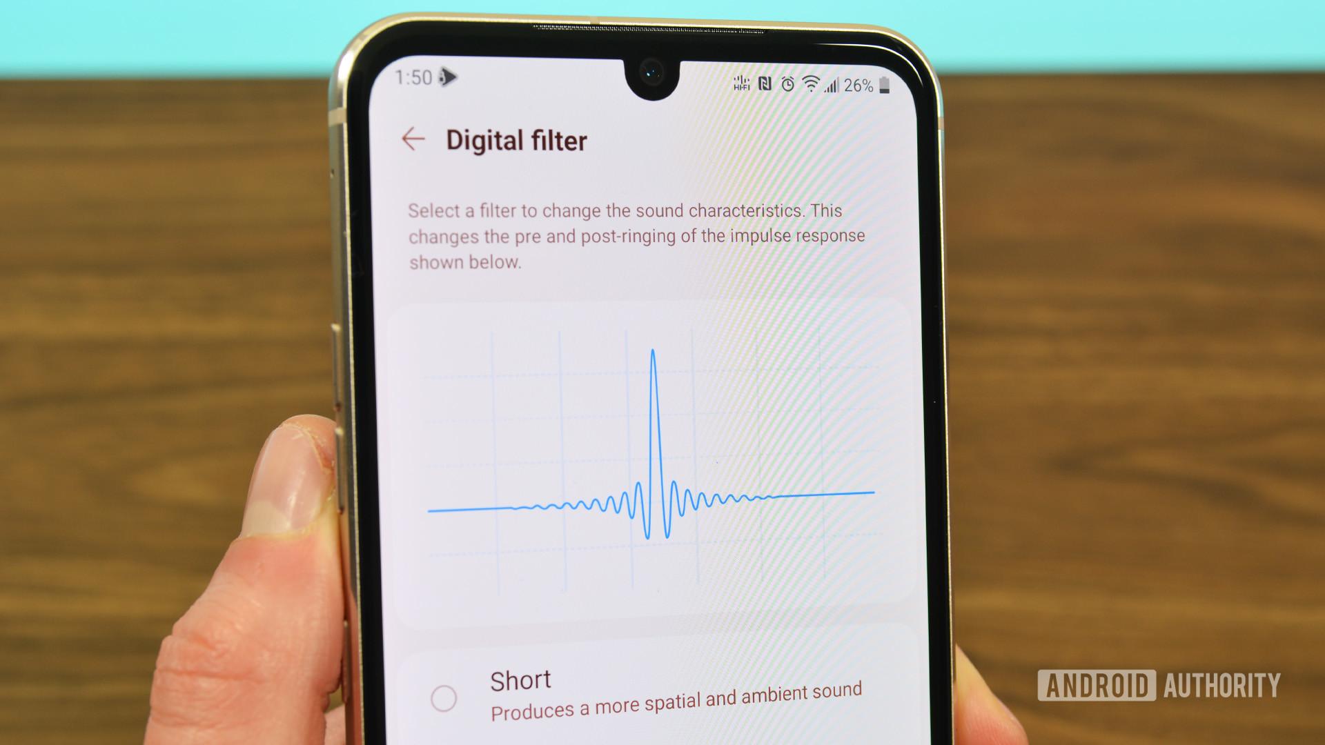 LG Quad DAC Digital Filter