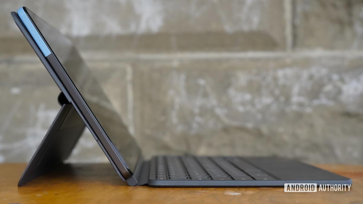 Lenovo Chromebook Duet left profile
