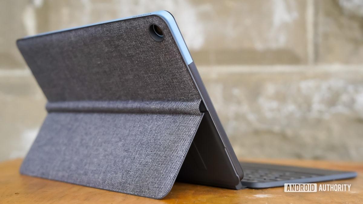 Perfil trasero de Lenovo Chromebook Duet
