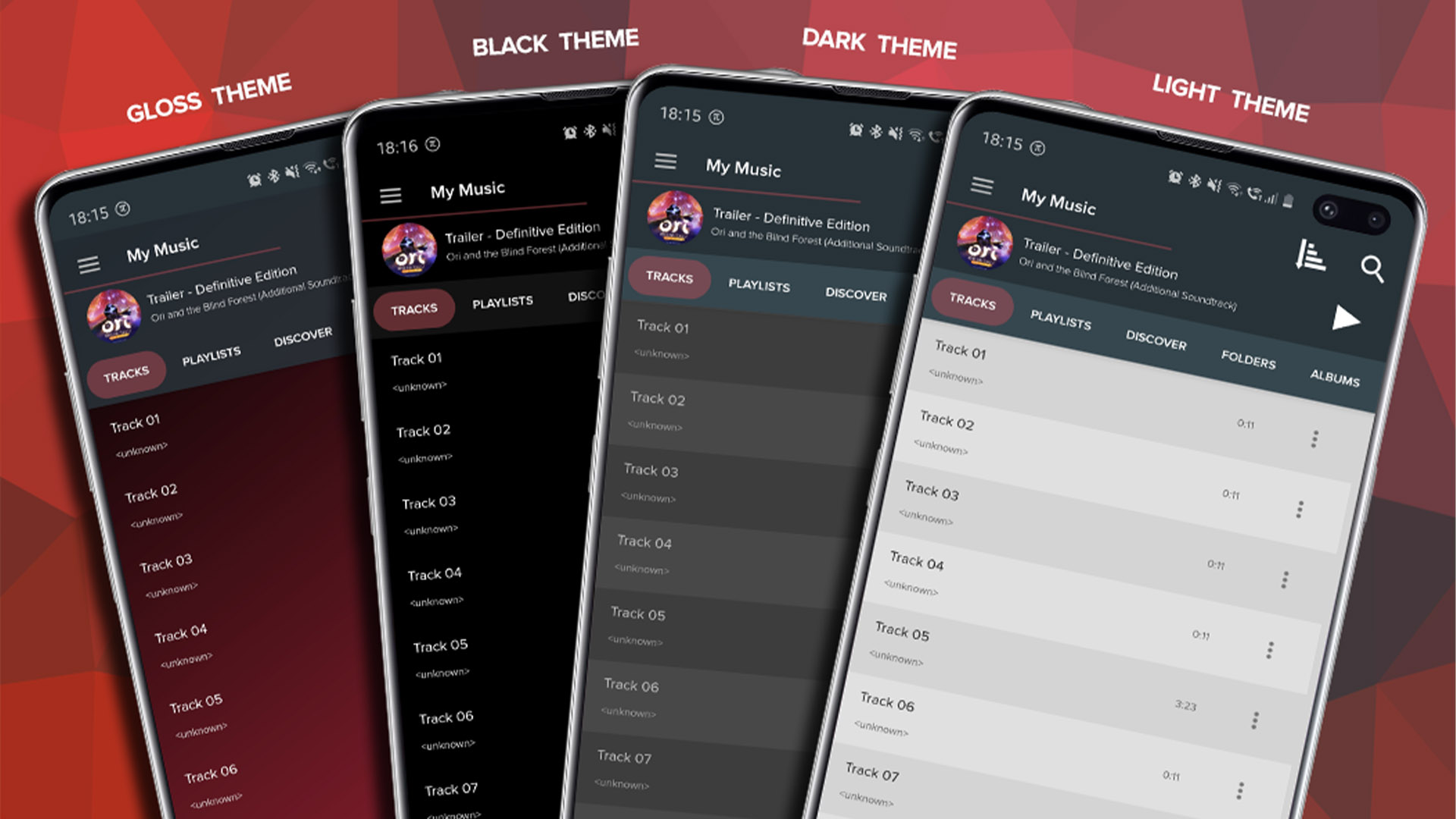 Pi Music Player screenshot 2020