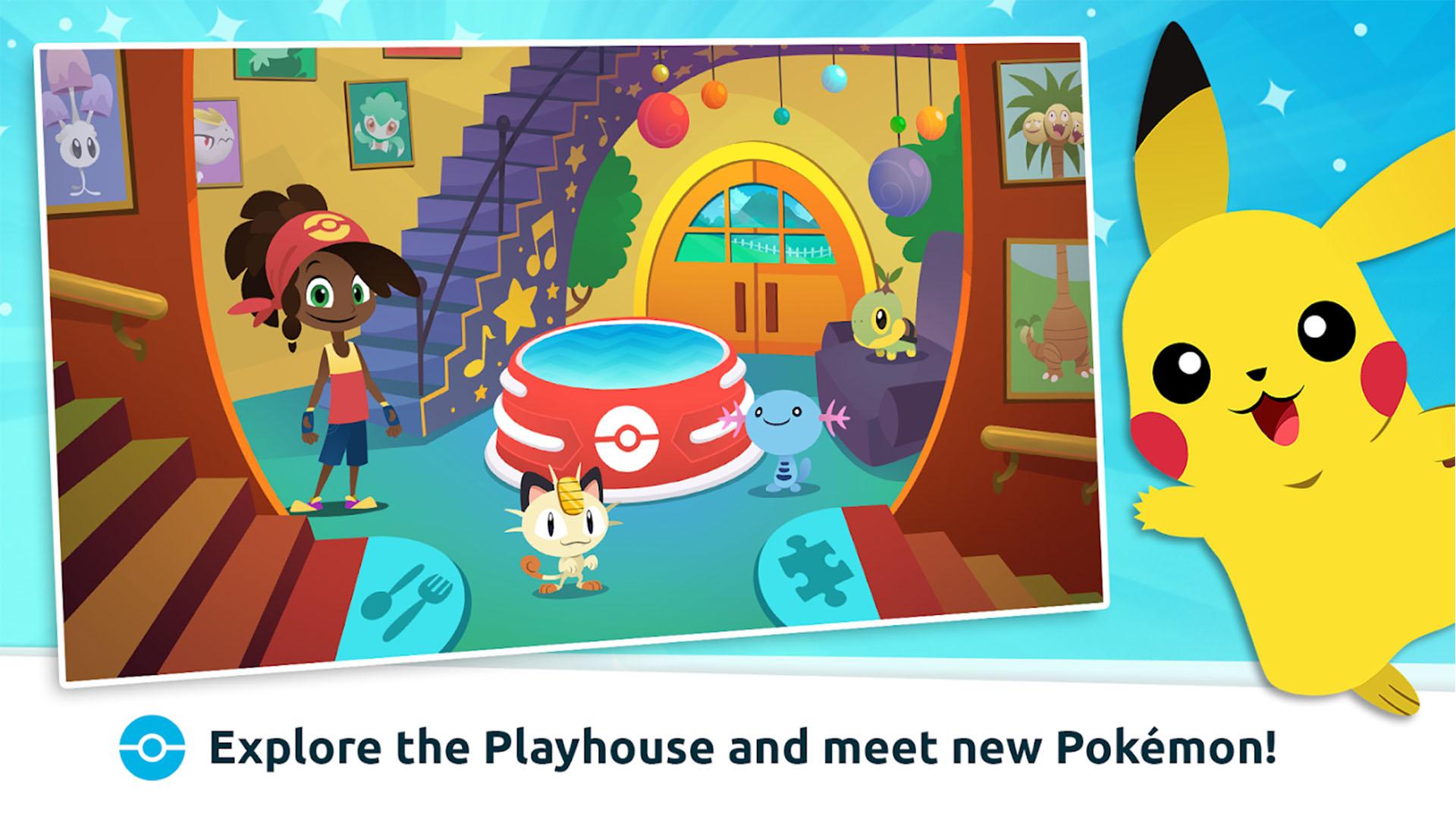 Pokemon Playhouse screenshot 2021