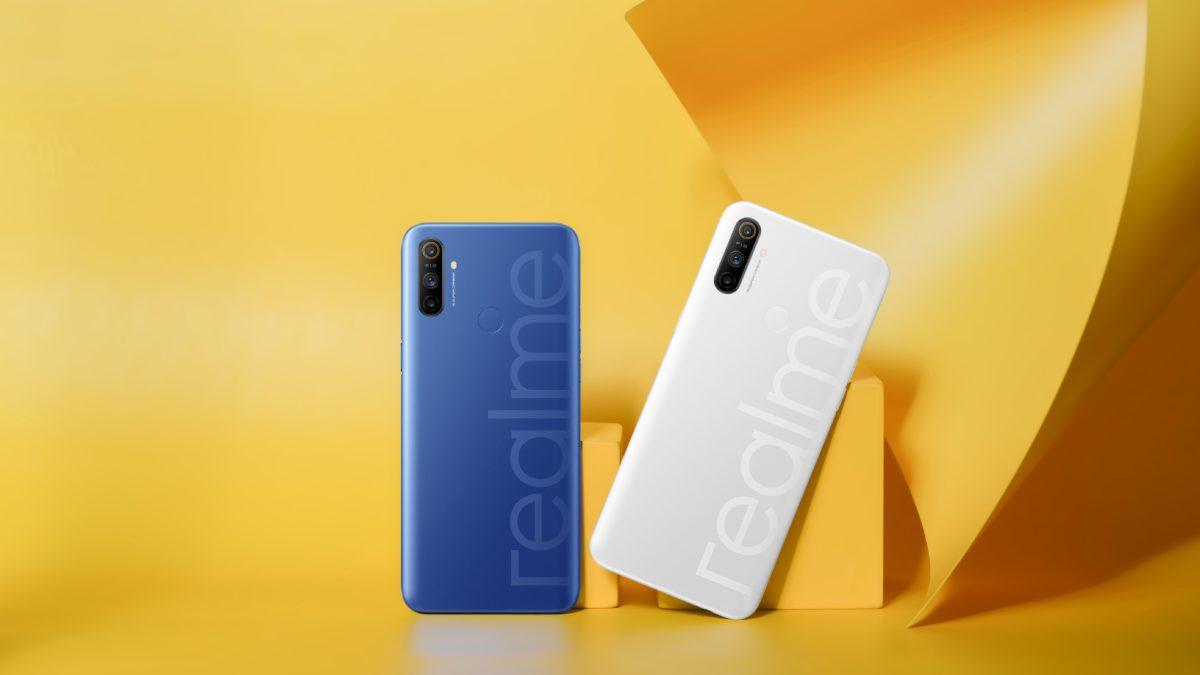 Realme Narzo 10A color options