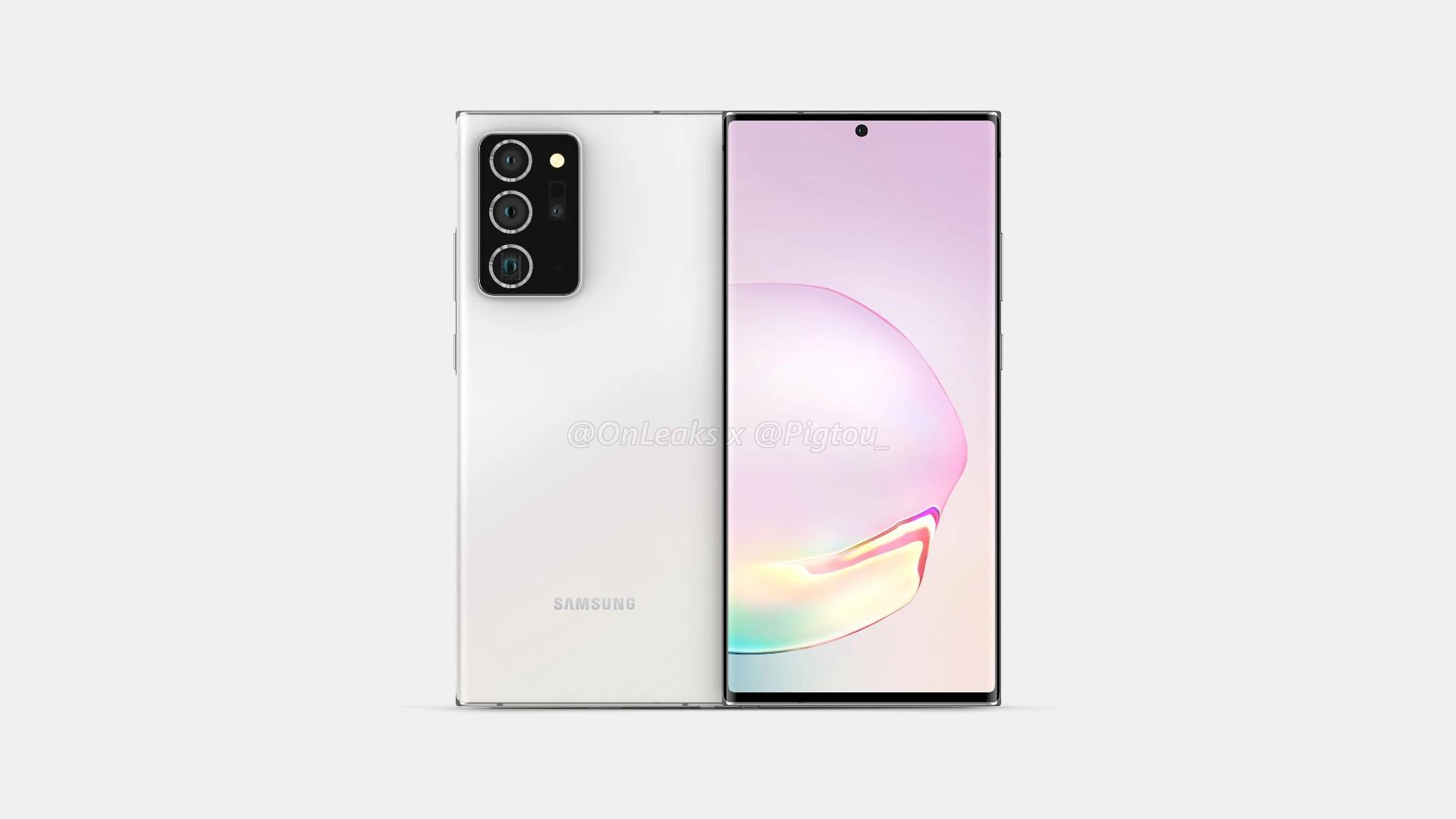 Samsung Galaxy Note 20 Renders 2