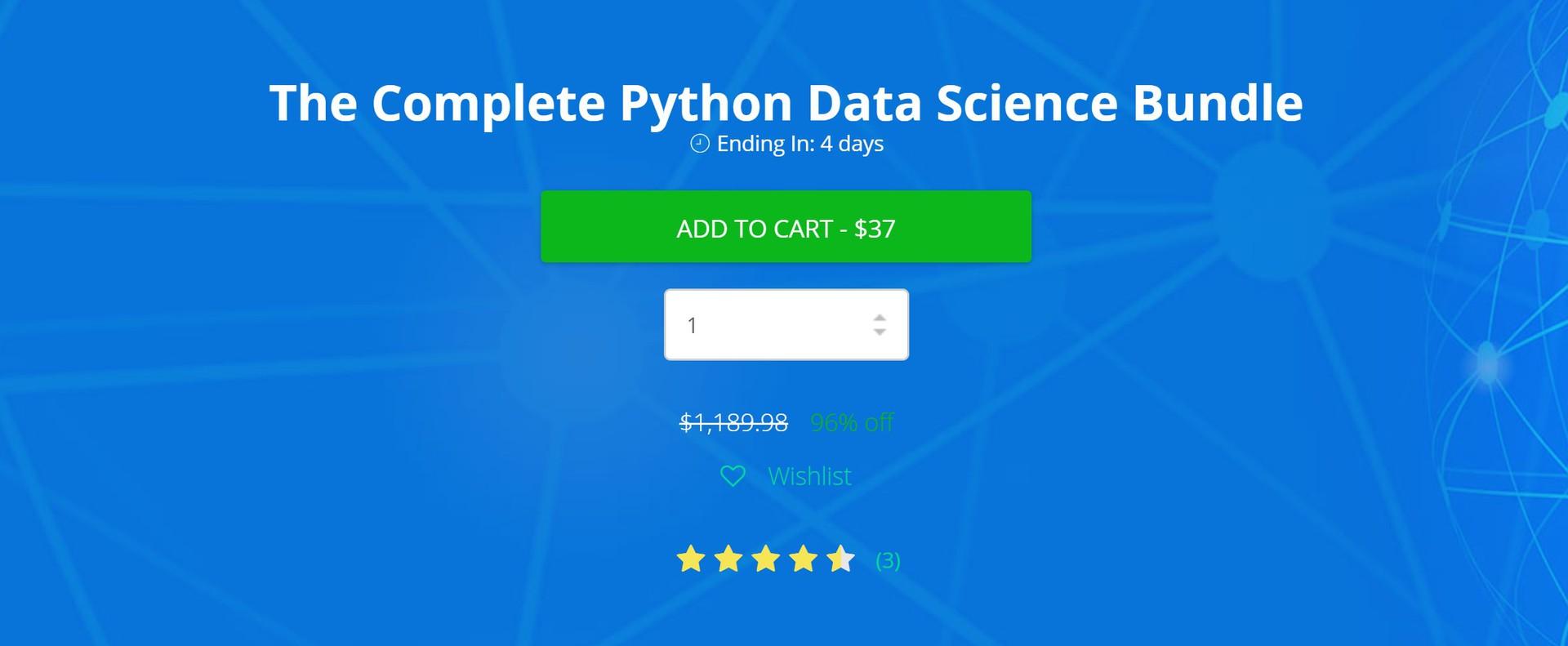 complete python data science