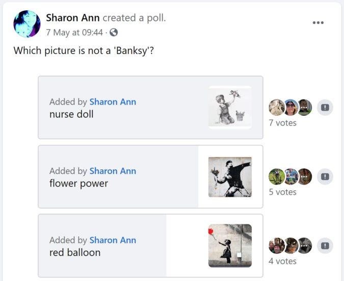 facebook group survey