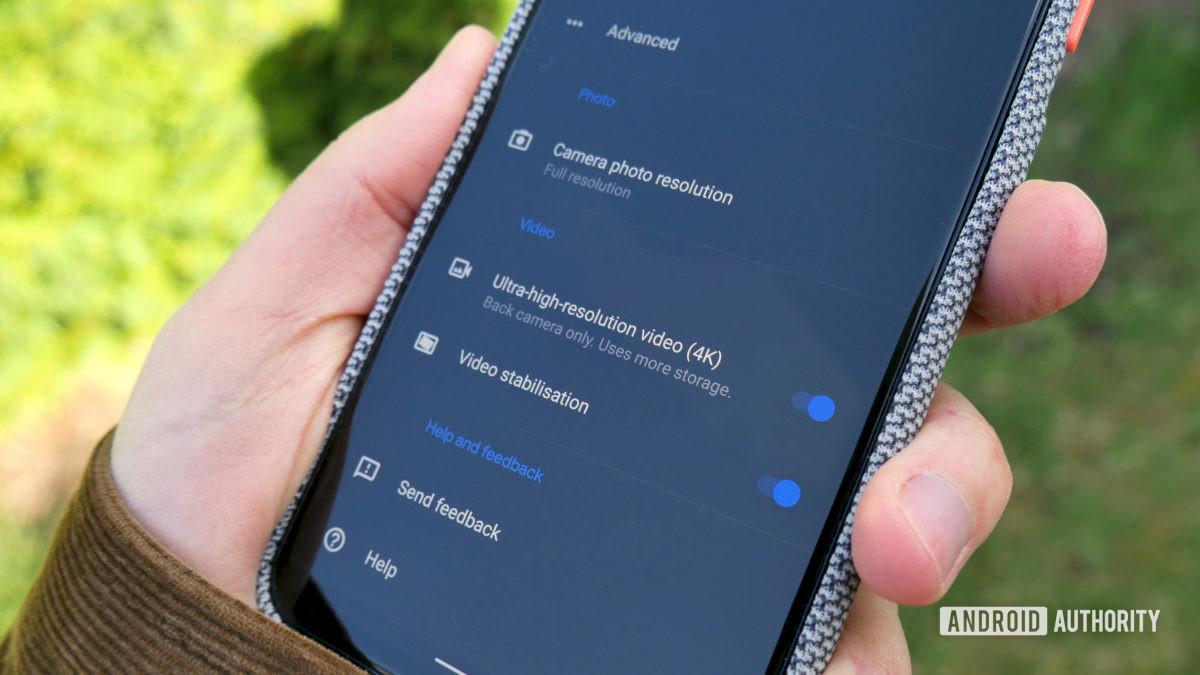 google pixel 4 xl revisited 4k video settings