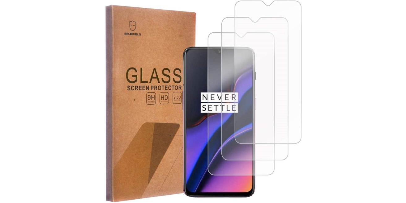mr shield tempered glass oneplus 7