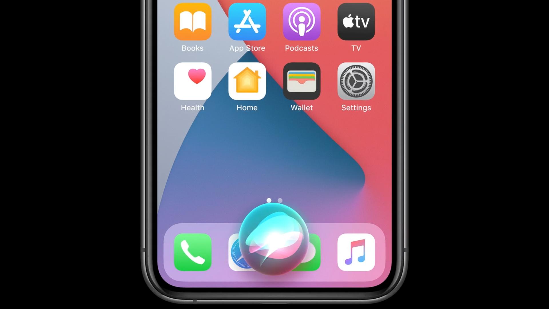 Apple WWDC 2020 new SIRI