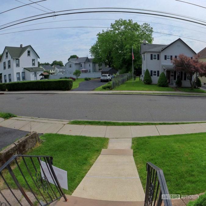 Arlo Video Doorbell camera view