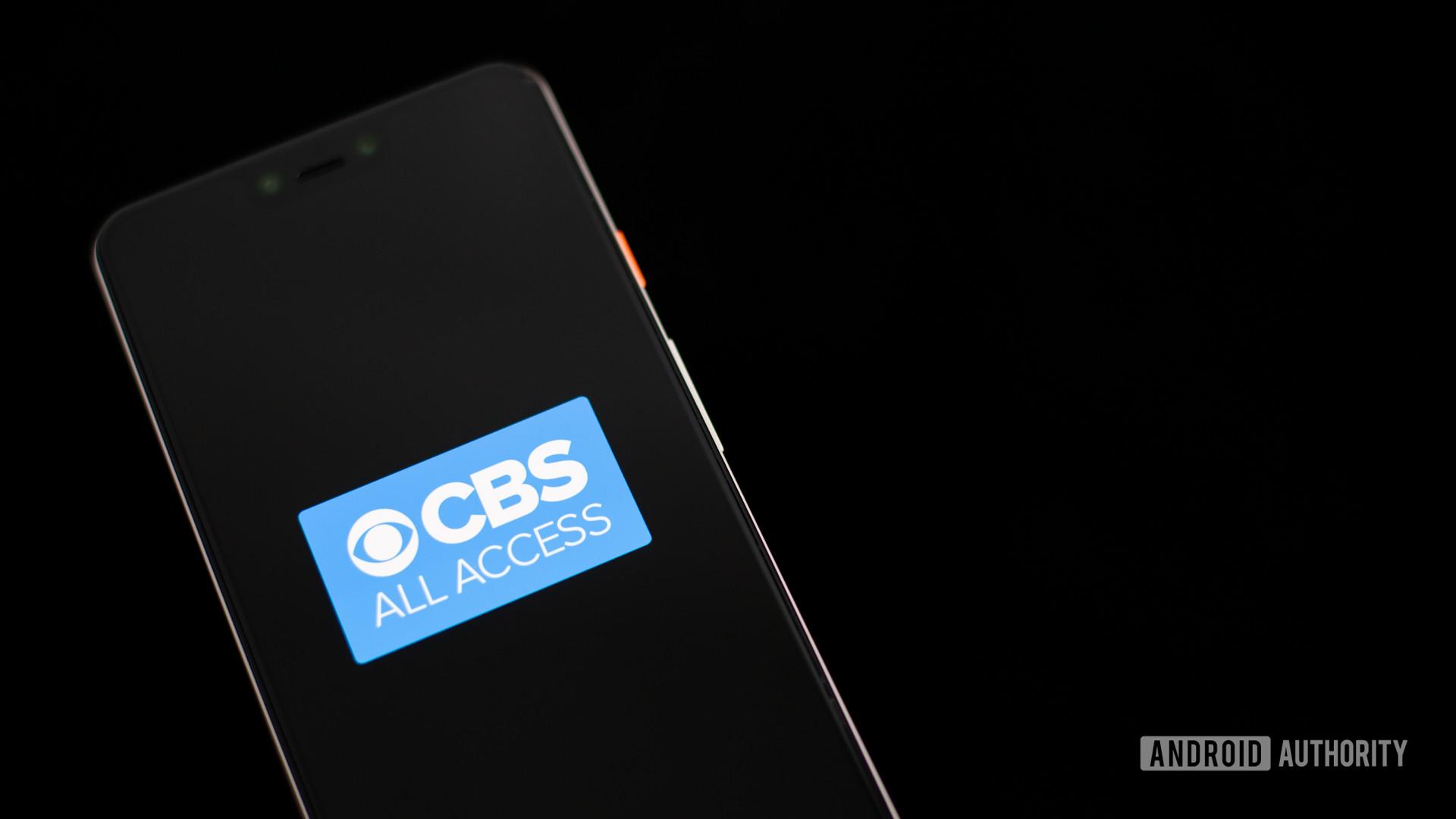 CBS All Access stock photo