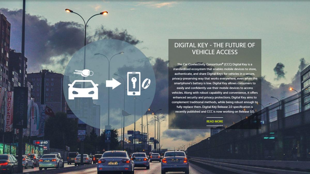 Car Connectivity Consortium Digital Key