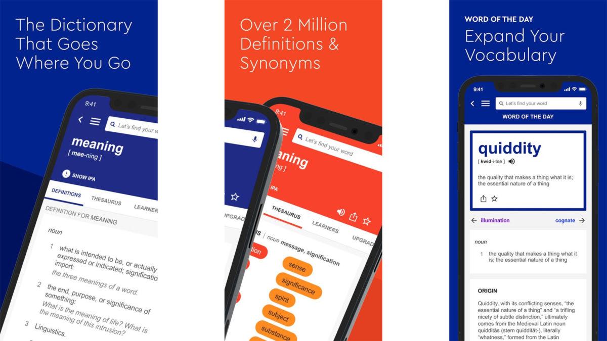 Dictionarydotcom screenshot 2020