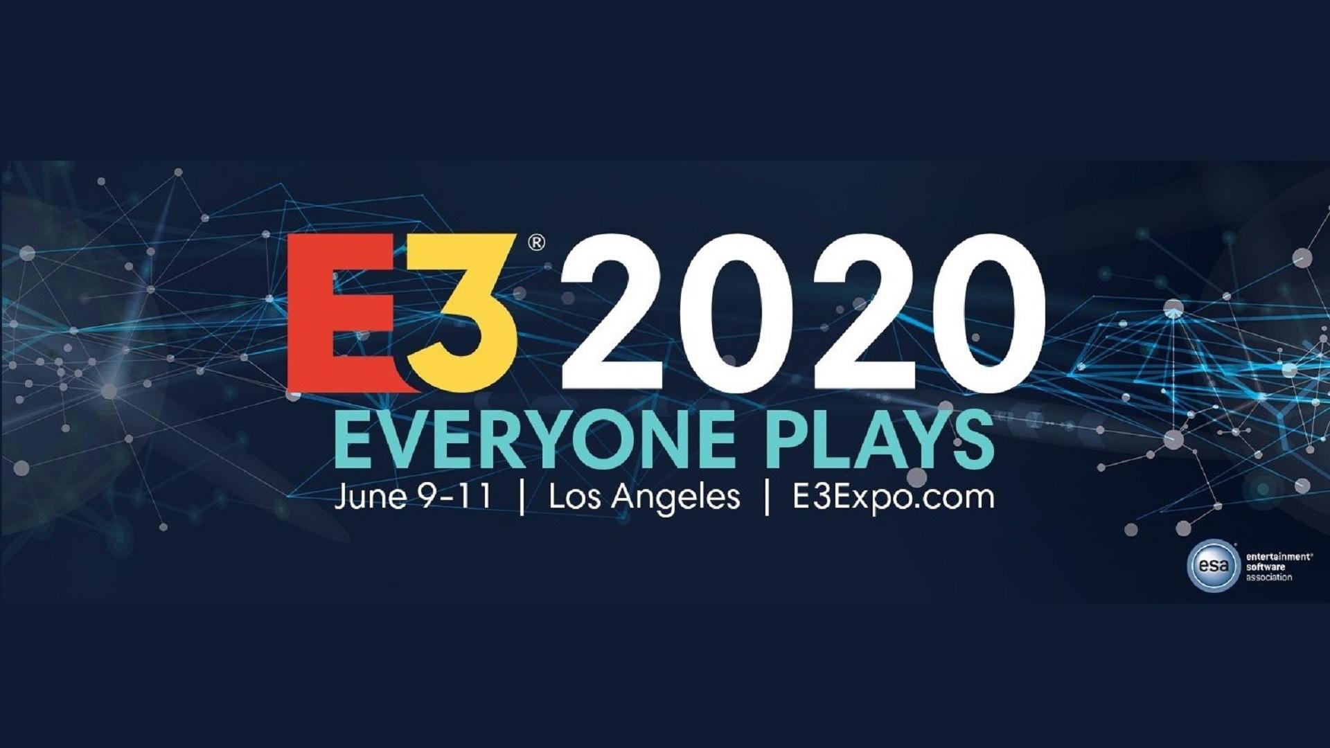 E3 schedule 2020 logo