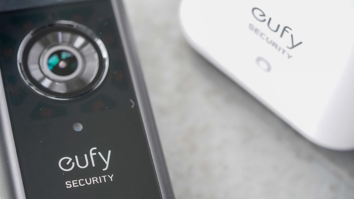 Eufy Video Doorbell bell an base togeher