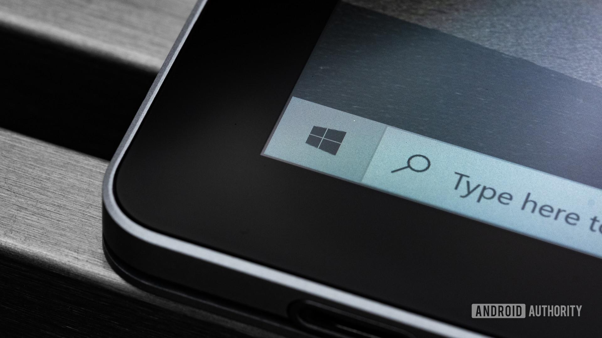Microsoft Surface Book 3 bezel macro 2