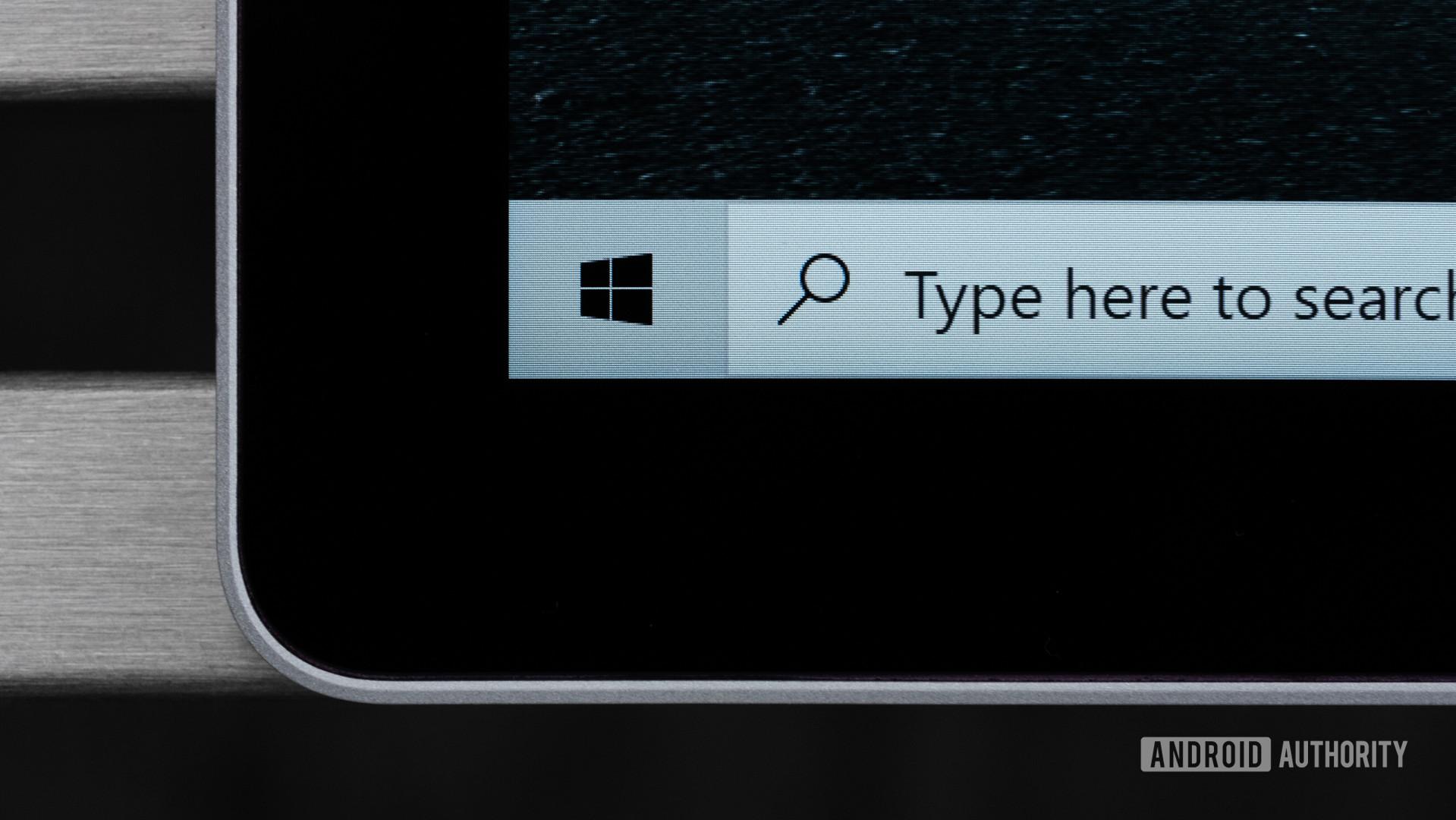 Microsoft Surface Book 3 bezel macro