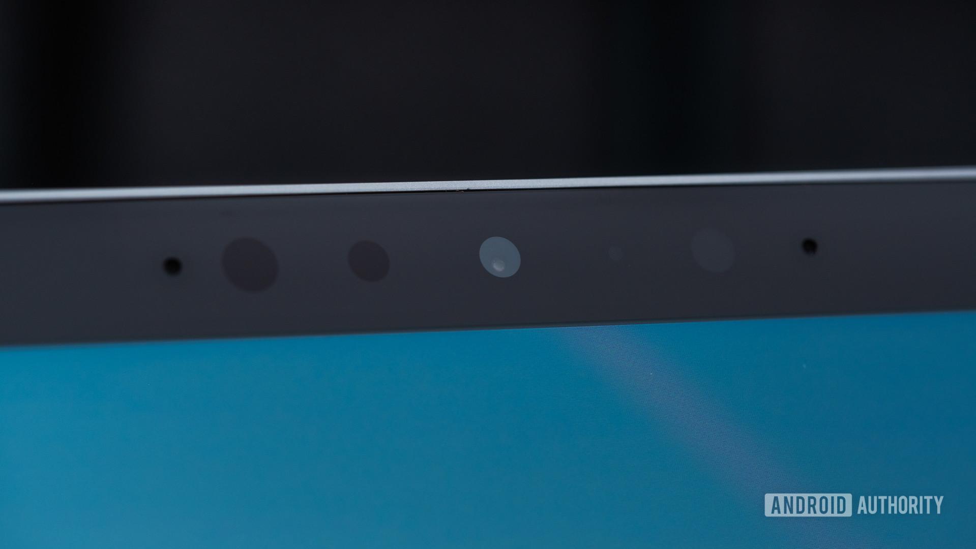 Microsoft Surface Book 3 front camera sensors