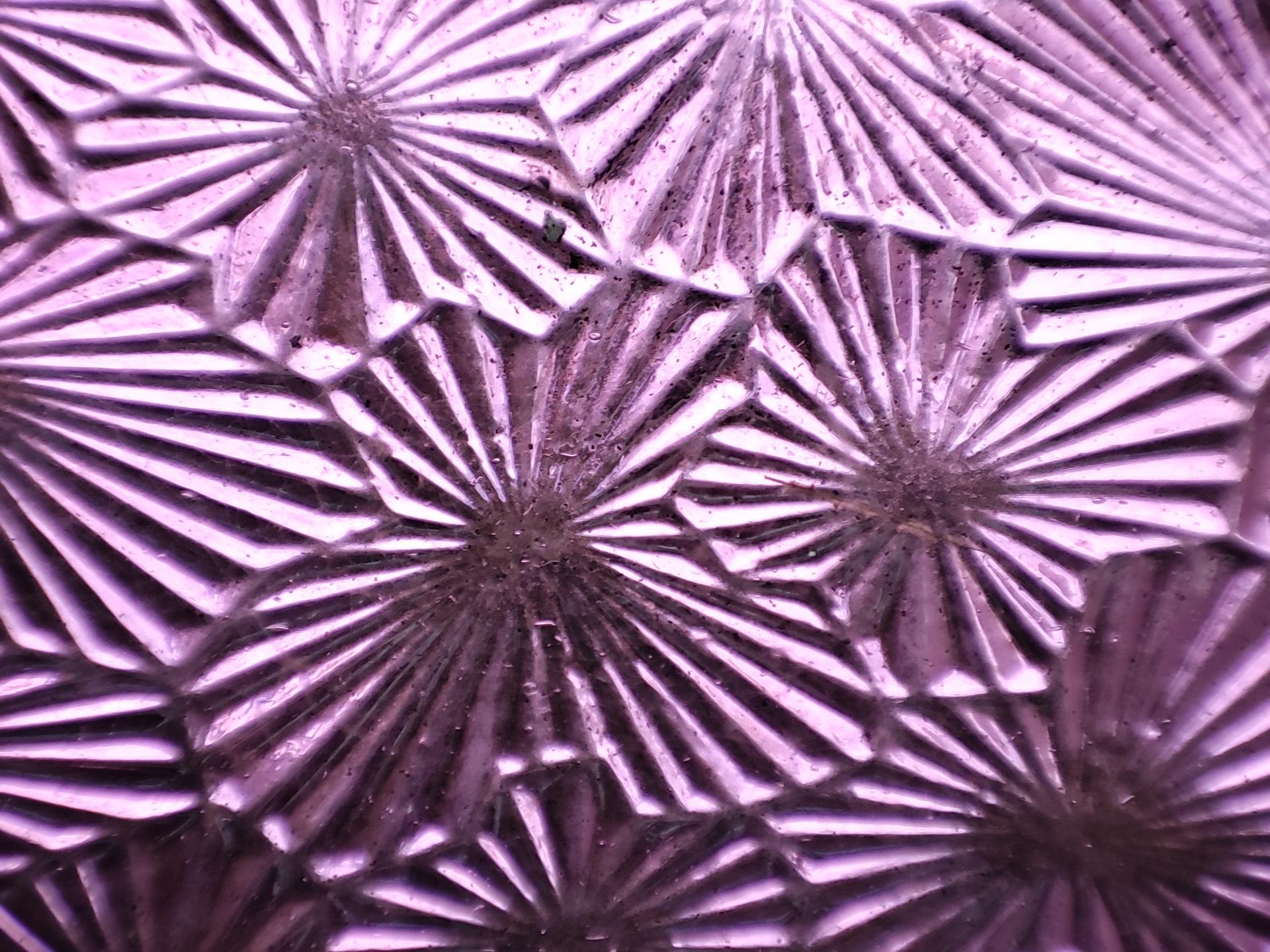 Pocophone F2 Pro macro test purple glass