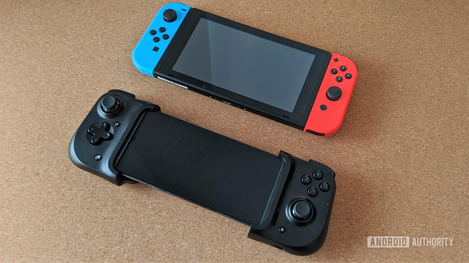 Razer Kishi and Nintendo Switch