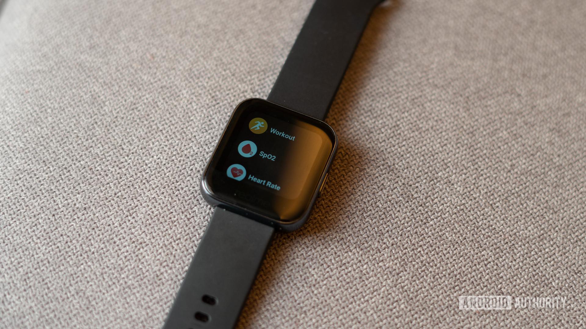 Realme Watch onboard applications