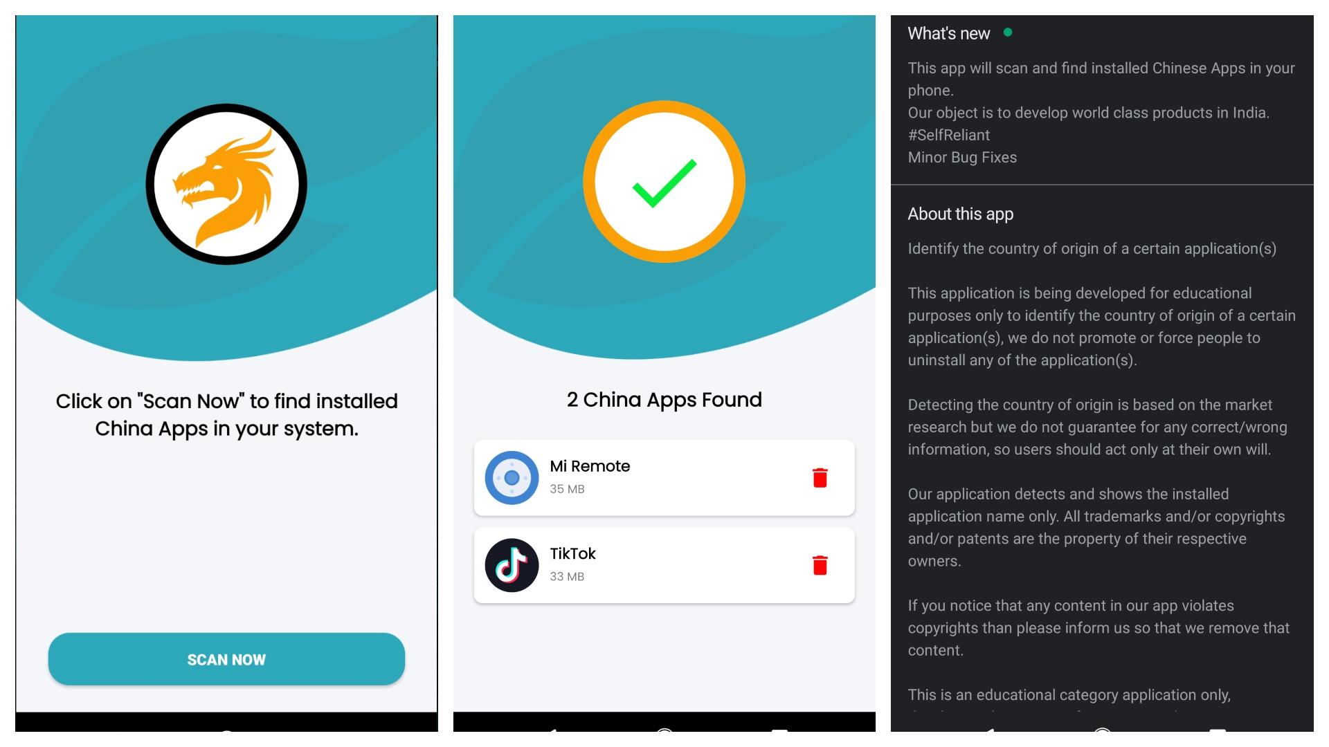 Remove China Apps Screenshots