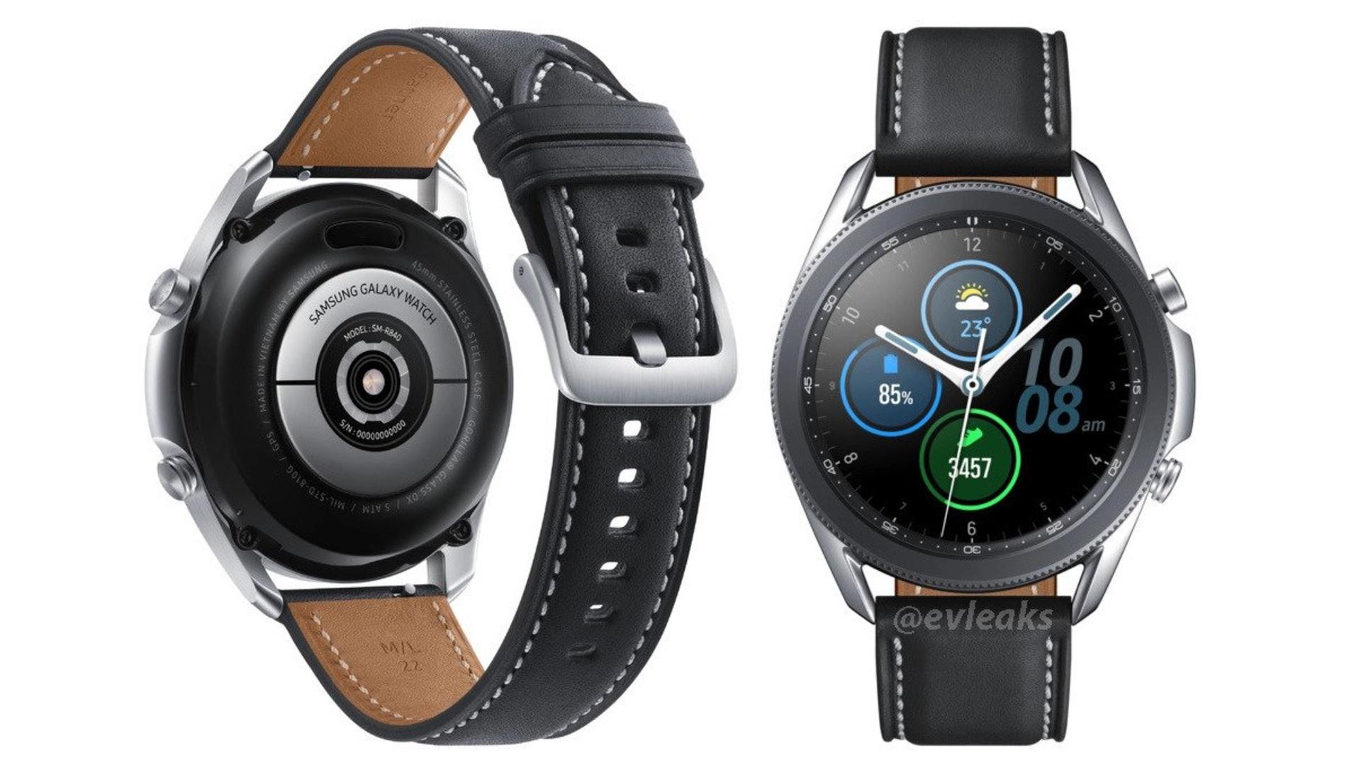 Samsung Galaxy Watch 3 45 mm Evan Blass