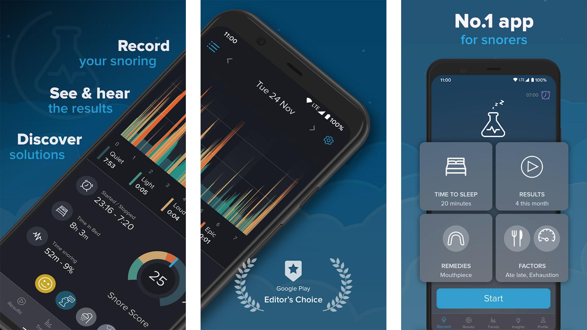 SnoreLab screenshot 2021