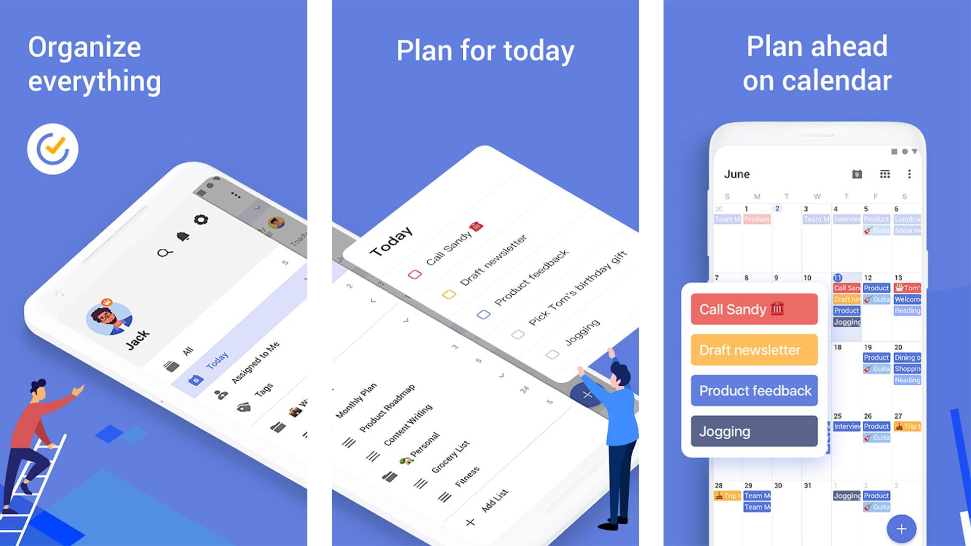 TickTick screenshot 2020