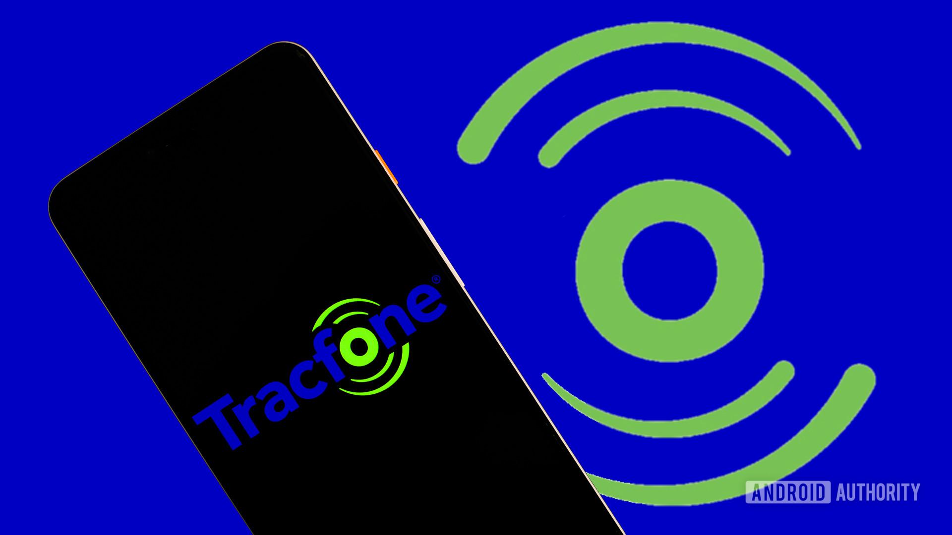 tracfone prepaid plan stock photo