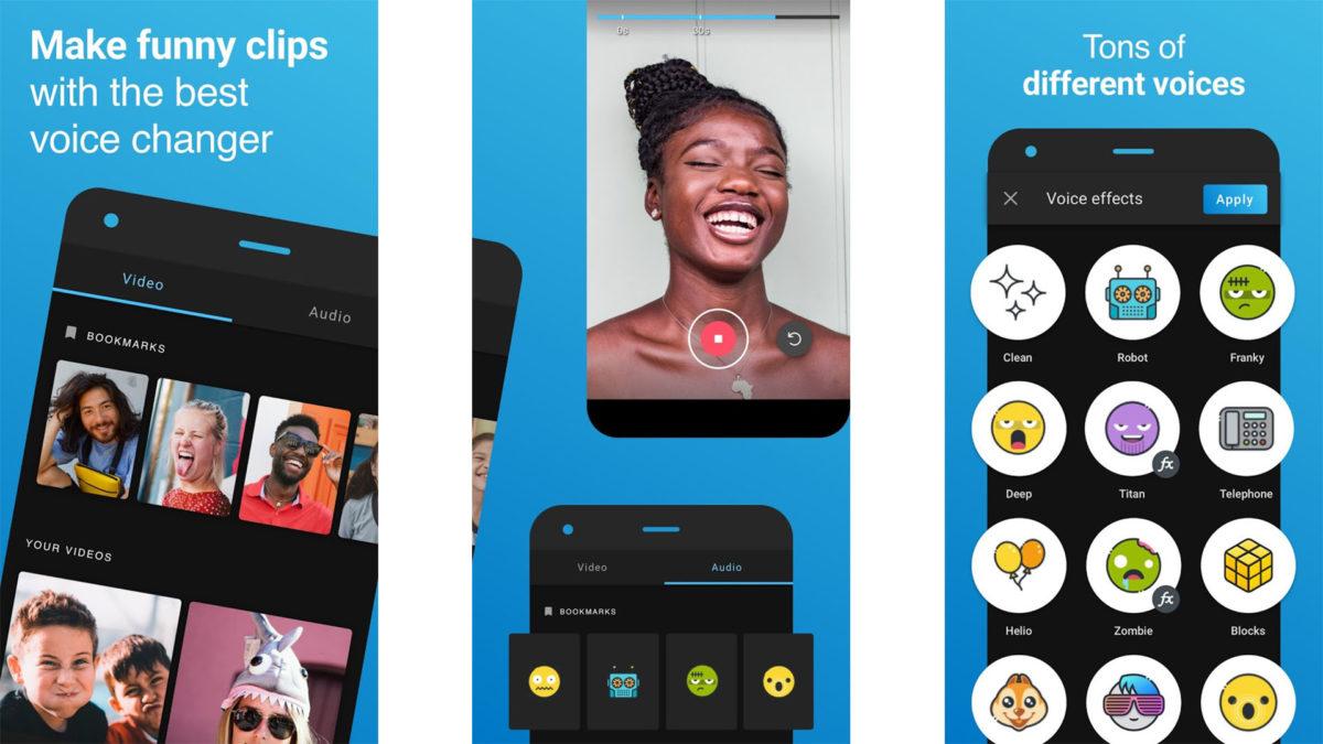 Voicemod Clips screenshot 2021