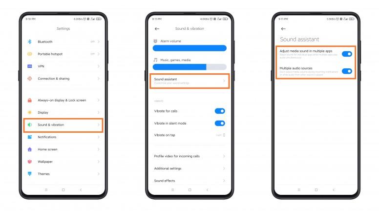 Xiaomi Sound Assistant MIUI 12
