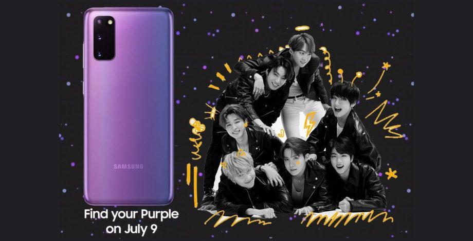 K-Pop fans rejoice, there's a Galaxy S20 Plus BTS Edition ...