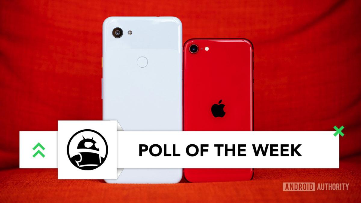 iPhone SE indietro vs Pixel 3a XL imp