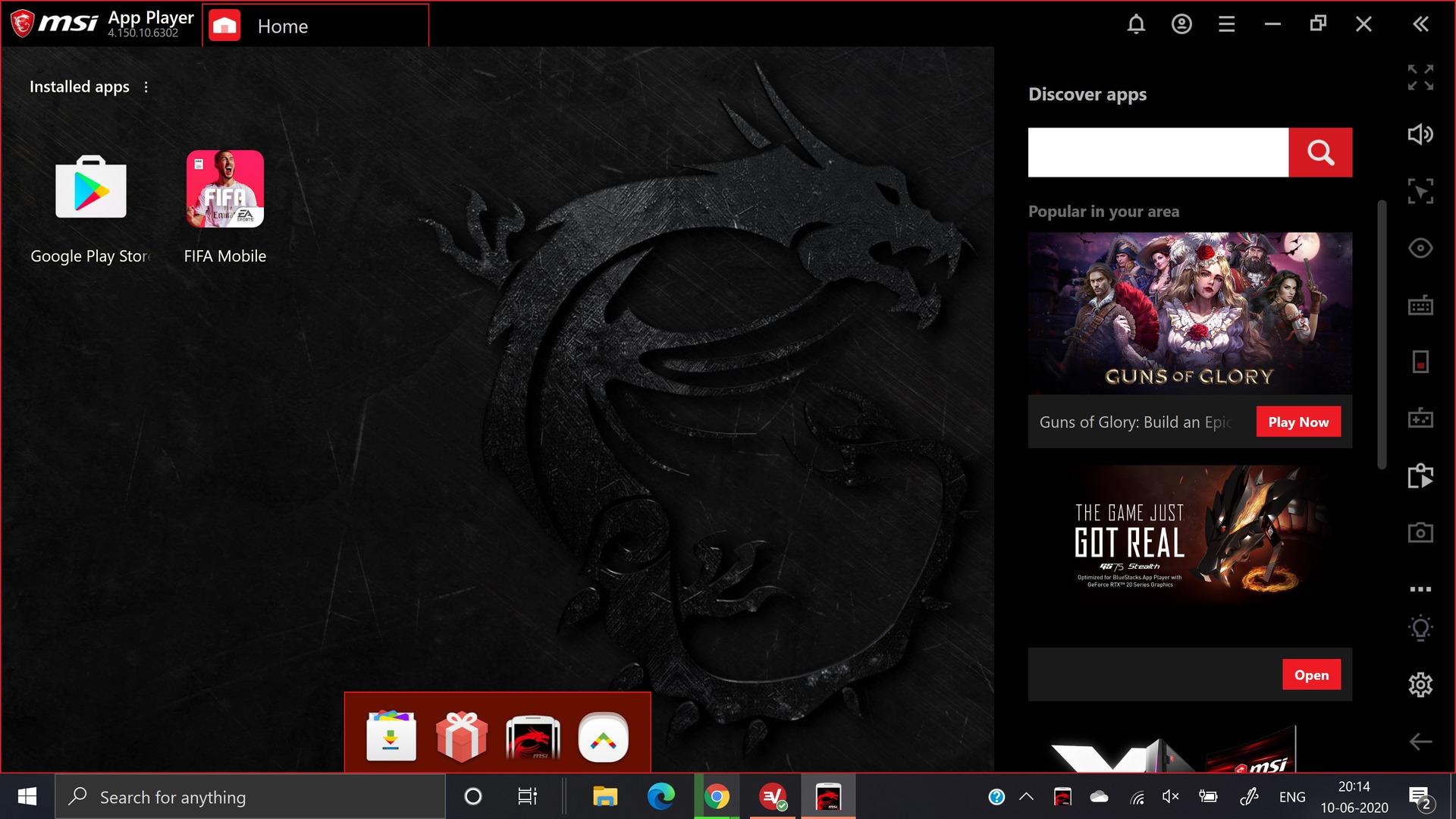 msi app player screenshot