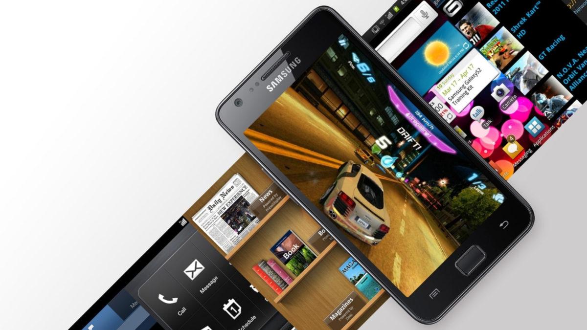 The Samsung Galaxy S2.