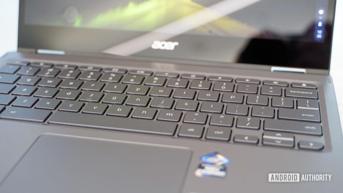 Acer Chromebook Spin 713 keyboard
